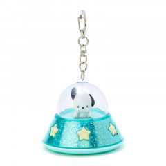Japan Sanrio Acrylic Charm Key Chain - Pochacco UFO