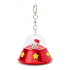 Japan Sanrio Acrylic Charm Key Chain - Hello Kitty UFO
