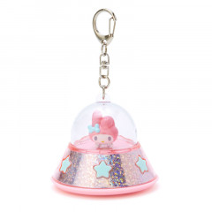 Japan Sanrio Acrylic Charm Key Chain - My Melody UFO