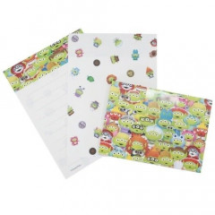 Japan Disney Mini Letter Envelope Set - Toy Story Little Green Men Alien Cosplay