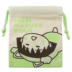 Japan Drawstring Bag - Chibi Maruko-chan Relex