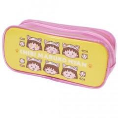 Japan Pencil Case (M) - Chibi Maruko-chan Yellow