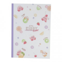 Japan Kirby B5 Glue Notebook - Fruits