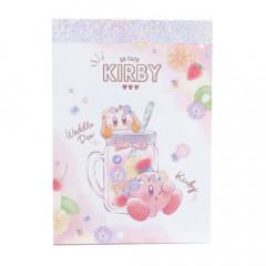 Japan Nintendo B8 Mini Notepad - Kirby & Waddle Dee