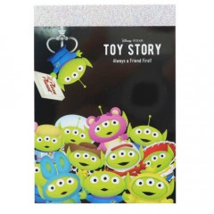 Japan Disney B8 Mini Notepad - Toy Story Alien Little Green Men Cosplay