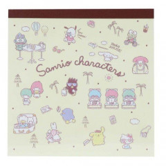 Japan Sanrio Memo Pad - Characters