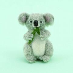 Japan Hamanaka Wool Needle Felting Kit - Koala