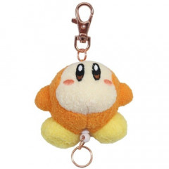 Japan Kirby Reel Key Chain Plush - Waddle