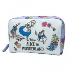 Japan Disney Makeup Pouch Bag (M) - Alice in Wonderland
