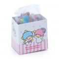 Japan Sanrio Sticker with Milk Pack Case - Little Twin Stars - 7