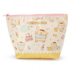 Japan Sanrio Pompompurin Pouch (L)