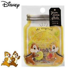 Japan Disney Masking Seal Flake Sticker - Chip & Dale Vs Donald Duck