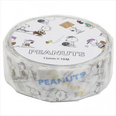 Japan Peanuts Washi Masking Tapes - Snoopy Sports