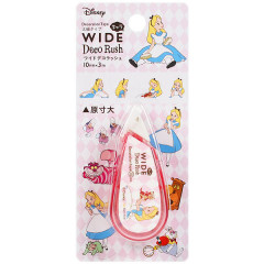 Japan Disney Wide Deco Rush - Alice in Wonderland