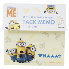 Japan Despicable Me Memo Pad - Minions / Whaaa