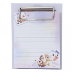 Japan Disney Notepad Memo with Binder - Chip & Dale