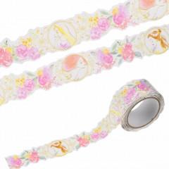 Japan Disney Washi Masking Tape - Princess Girls