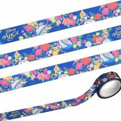 Japan Disney Washi Masking Tape - Alice in Wonderland Navy