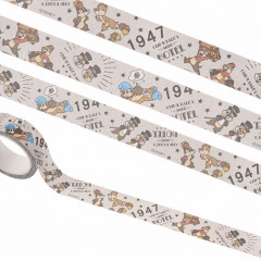 Disney Japanese Washi Paper Masking Tape - Chip & Dale