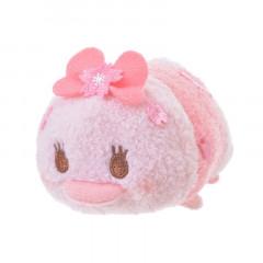 Japan Disney Tsum Tsum Mini Plush (S) - Daisy × Sakura