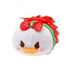 Japan Disney Tsum Tsum Mini Plush (S) - Daisy × Strawsberry
