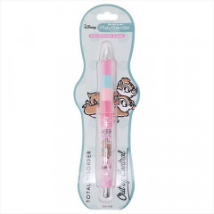 Japan Disney Pilot Dr. Grip Play Border 0.3mm Mechanical Pencil - Chip & Dale