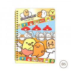 Sanrio B5 Twin Ring Notebook - Gudetama