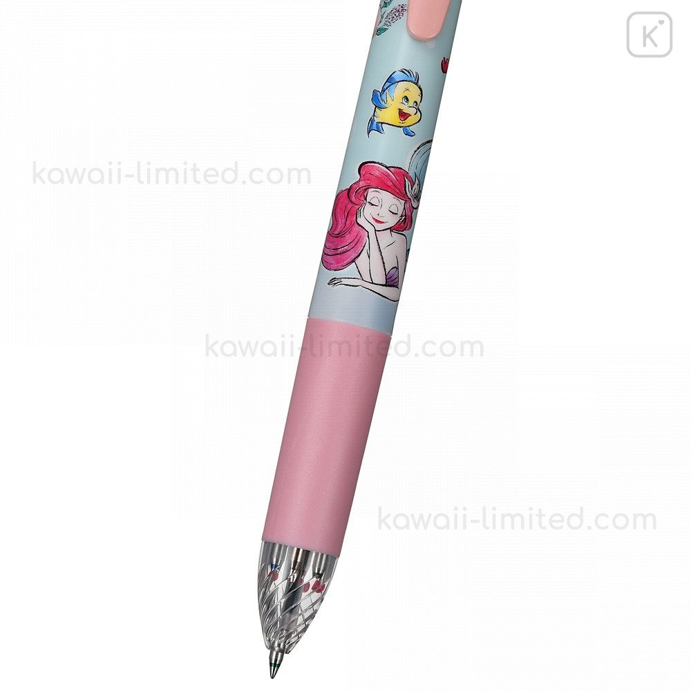 Disney Japan Two Color Mimi Pen Princess Little Mermaid Multi Pen Red /& Black