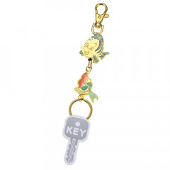Japan Disney Reel Key Chain - Little Mermaid Ariel