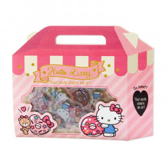 Japan Sanrio Sweets Stickers with Cake Box - Hello Kitty