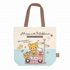 Japan San-X RilakkumaTote Bag - Always Together