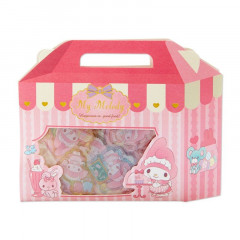 Japan Sanrio Sweets Stickers with Cake Box - My Melody