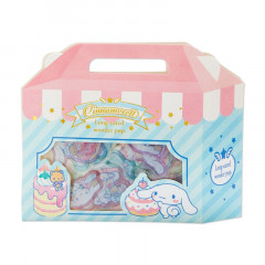 Japan Sanrio Sweets Stickers with Cake Box - Cinnamoroll