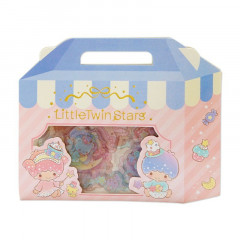Japan Sanrio Sweets Stickers with Cake Box - Little Twin Stars