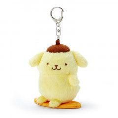 Sanrio Charm Key Chain Plush - Pompompurin Sports