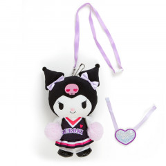 Japan Sanrio Hand-moving Cheering Plush - Kuromi