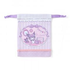 Japan Sanrio Drawstring Bag - Kuromi