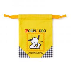 Japan Sanrio Drawstring Bag - Pochacco