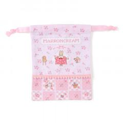 Japan Sanrio Drawstring Bag - Marroncream