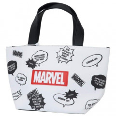 Japan Disney Bag & Cooler Bag - Marvel White