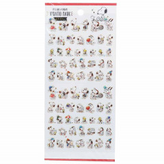 Japan Snoopy Kiratto Mark Seal Sticker
