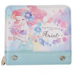 Japan Disney Bi-Fold Wallet - Princess Little Mermaid Ariel