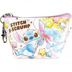 Japan Disney Triangular Mini Pouch - Stitch