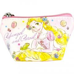 Japan Disney Triangular Mini Pouch - Rapunzel