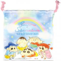 Japan Crayon Shin-chan Drawstring Bag - Friends
