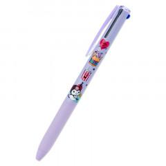 Japan Sanrio Super Grip 3 Color Ball Pen - Kuromi