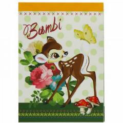 Japan Disney B8 Mini Notepad - Bambi