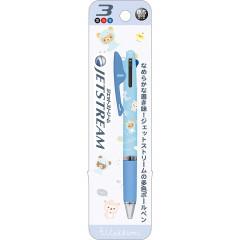 Japan San-X Jetstream 3 Color Multi Ball Pen - Rilakkuma / Dinasour