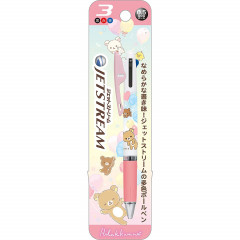 Japan Rilakkuma Jetstream 3 Color Multi Pen - Pink Heart