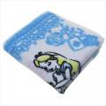 Japan Disney Fluffy Handkerchief Wash Towel - Alice in Wonderland - 2